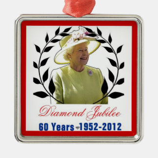 Queens Diamond Jubilee 60 Years Ornament