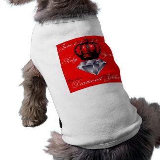 Queens Diamond Jubilee Dog Shirt