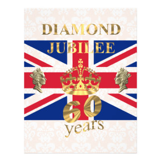 Queens Diamond Jubilee Flyer