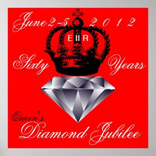 Queens Diamond Jubilee Poster
