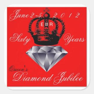 Queens Diamond Jubilee Sticker