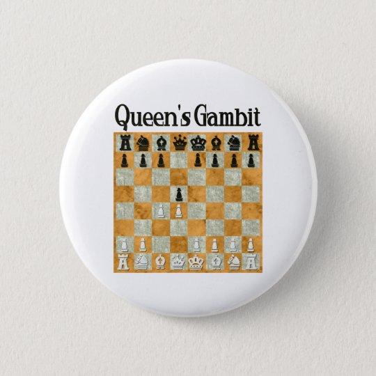 Queen's Gambit 6 Cm Round Badge