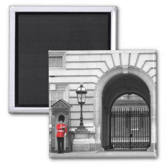 Queen's Guard Keeping Watch Fridge Magnets