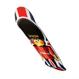 Queen's Guard Soldier Cartoon 20.6 Cm Skateboard Deck