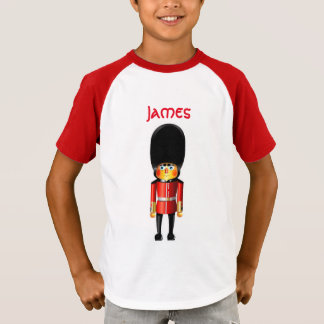 Queen's Guard Soldier Cartoon T-Shirt