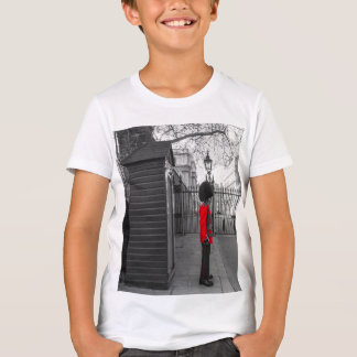 Queen's Guard standing guard at Clarence House T-Shirt