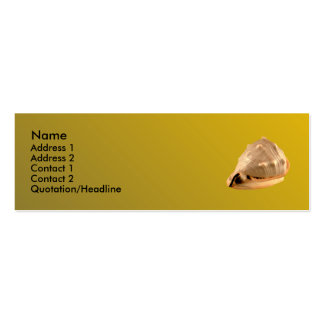 Queens Helmet Double-Sided Mini Business Cards (Pack Of 20)