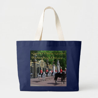 QUEEN'S HORSE GUARD BUCKINGHAM PALACE LARGE TOTE BAG