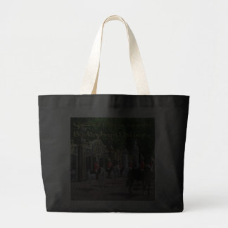QUEEN'S HORSE GUARD BUCKINGHAM PALACE JUMBO TOTE BAG