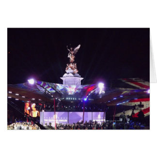 Queen's Jubilee Concert, London Greeting Card