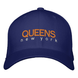 Queens New York Hat Embroidered Cap