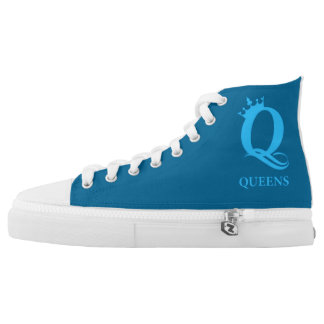 Queens New York Zipz Shoes Printed Shoes