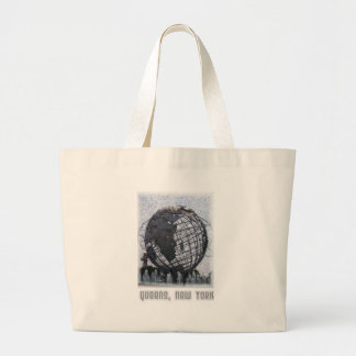 Queens, NY Large Tote Bag