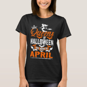 f94e4f25 Queens Are Born In April T-Shirts & Shirt Designs | Zazzle UK