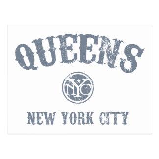 *Queens Postcard