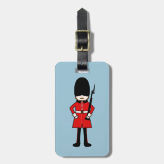 Queen's Royal Guard Luggage Tag