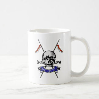 Queens Royal Lancers Classic White Coffee Mug