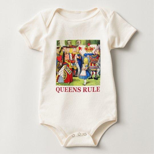Queens Rule Baby Bodysuit