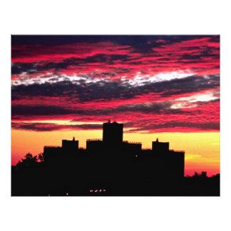 Queens sunset New York U S A Flyer