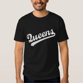Queens T-Shirt 2 with White Script