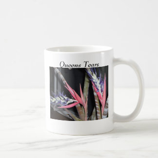 Queens Tears Plant w/Flowers Basic White Mug