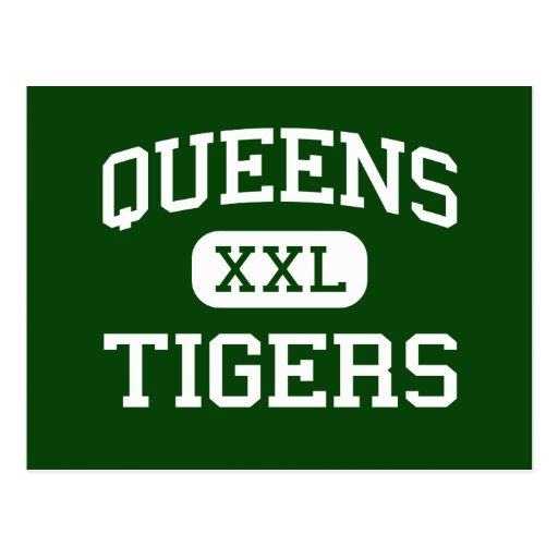 Queens - Tigers - Vocational - New York New York Postcards