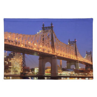 Queensboro Bridge and the East River Placemat