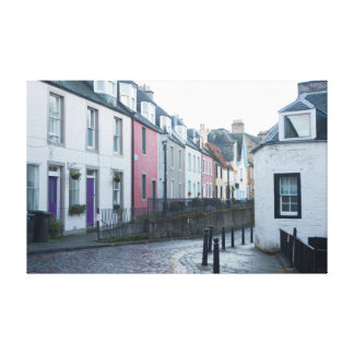 queensferry houses canvas print