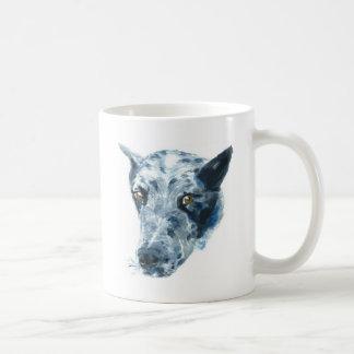 QueensLand Heeler Dog Basic White Mug
