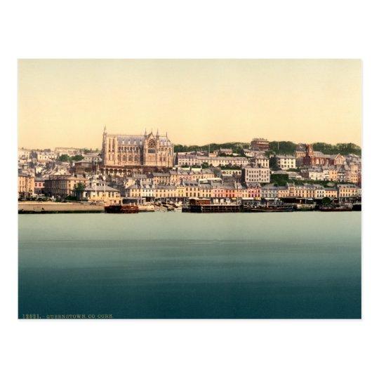 Queenstown - Cobh, vintage Cork Ireland Postcard