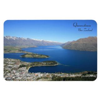 Queenstown from Bob's Peak, New Zealand - Magnet