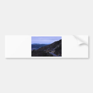 QUEENSTOWN MOUNTAIN VIEW TASMANIA AUSTRALIA BUMPER STICKER