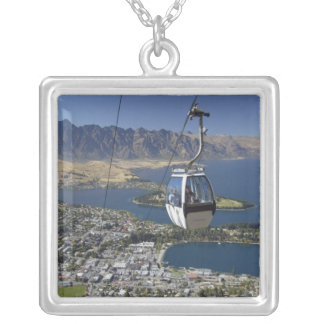 Queenstown, New Zealand Silver Plated Necklace
