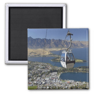 Queenstown, New Zealand Square Magnet