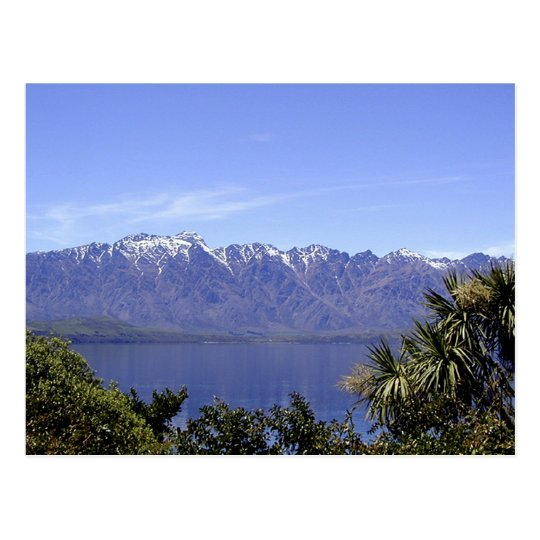 Queenstown, NZ Mountains & Lake Nature Postcards