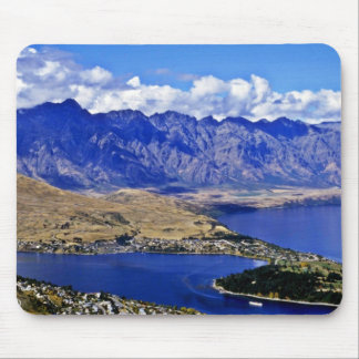 Queenstown, South Island Mouse Mat