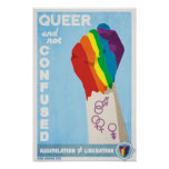 Queer and Not Confused Poster