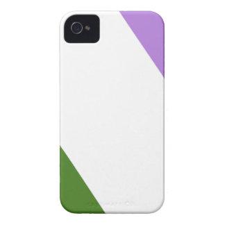 Queer/Genderqueer Pride Flag Case-Mate iPhone 4 Cases
