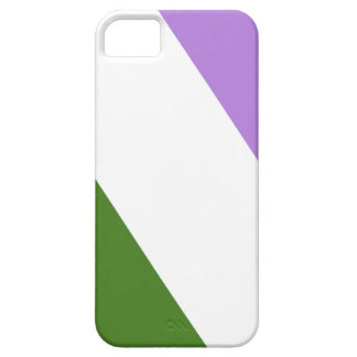 Queer/Genderqueer Pride Flag iPhone 5 Case