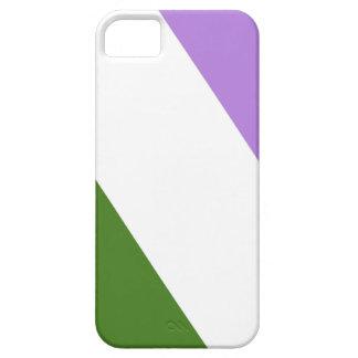 Queer/Genderqueer Pride Flag iPhone 5 Case