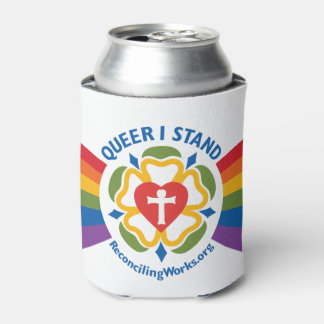 """Queer I Stand"" coozie"