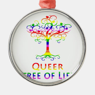 Queer Tree of Life Zazzle.png Christmas Ornament