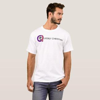 Queerly Christian Full Logo (Light) T-Shirt
