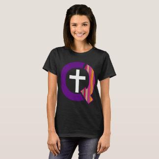 Queerly Christian Logo (Dark) T-Shirt