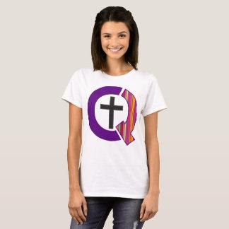 Queerly Christian Logo (Light) T-Shirt