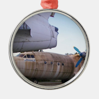 Queing never to fly again. christmas ornament