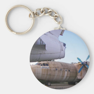 Queing never to fly again. key ring