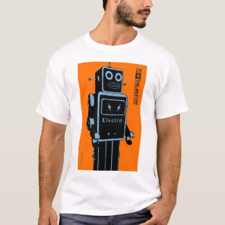 Quelstar Toys ElectroMan Tin Toy Robot T-Shirt