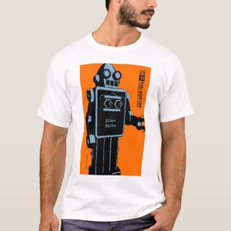 Quelstar Toys Silver Bullet Tin Toy Robot T-Shirt