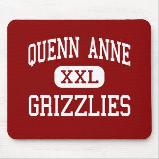 Quenn Anne - Grizzlies - High - Seattle Washington Mouse Pad